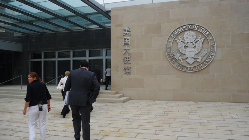 Vụ đóng cửa lãnh sự quán TQ: Phái đoàn Mỹ vẫn đến Bắc Kinh  - ảnh 1