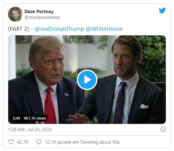 Ông Trump: Thường hối hận vì bài đăng trên Twitter - ảnh 1
