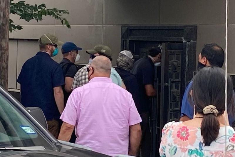 Lãnh sự quán Trung Quốc tại Houston bị phá cửa - ảnh 1