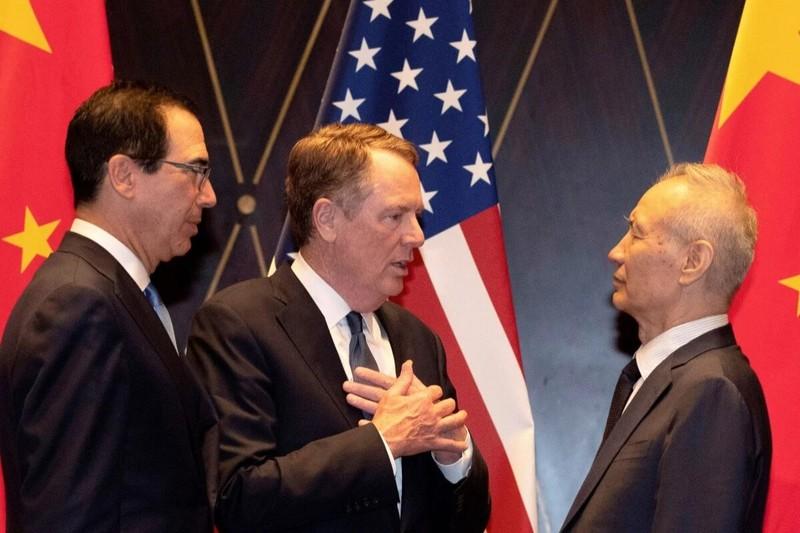 Thương chiến Mỹ-Trung: Sắp đánh giá thỏa thuận giai đoạn một - ảnh 1