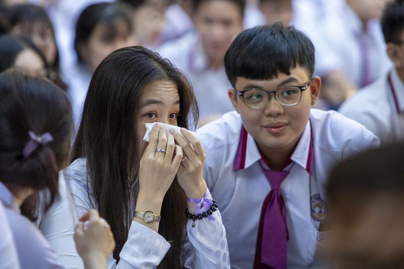 Ngày chia tay cuối cấp của học sinh Trường THPT Trưng Vương - ảnh 4