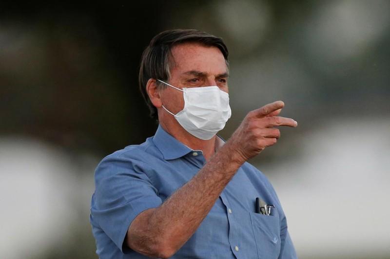 Tổng thống Brazil có nấm mốc trong phổi vì COVID-19 - ảnh 1