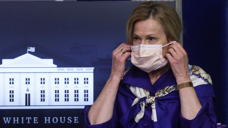 Cố vấn y tế Mỹ: Người dân nên đeo khẩu trang cả khi ở nhà - ảnh 1