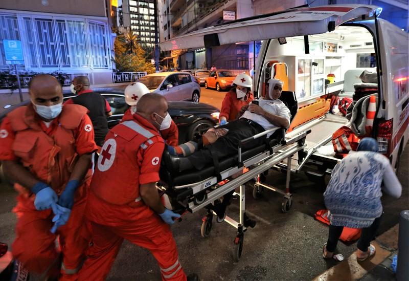 VIDEO: Nổ kinh hoàng ở Lebanon làm 78 người chết - ảnh 1