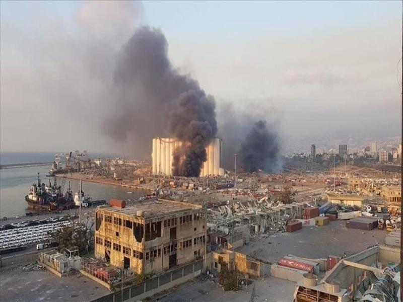 Ông Trump: Quân đội Mỹ nói vụ nổ Lebanon có thể do bom - ảnh 1