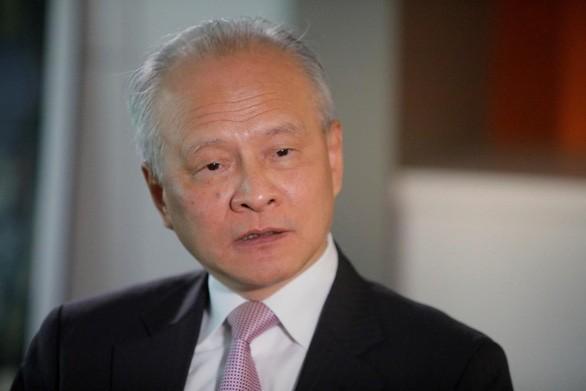 Đại sứ Trung Quốc tại Washington dịu giọng với Mỹ - ảnh 1