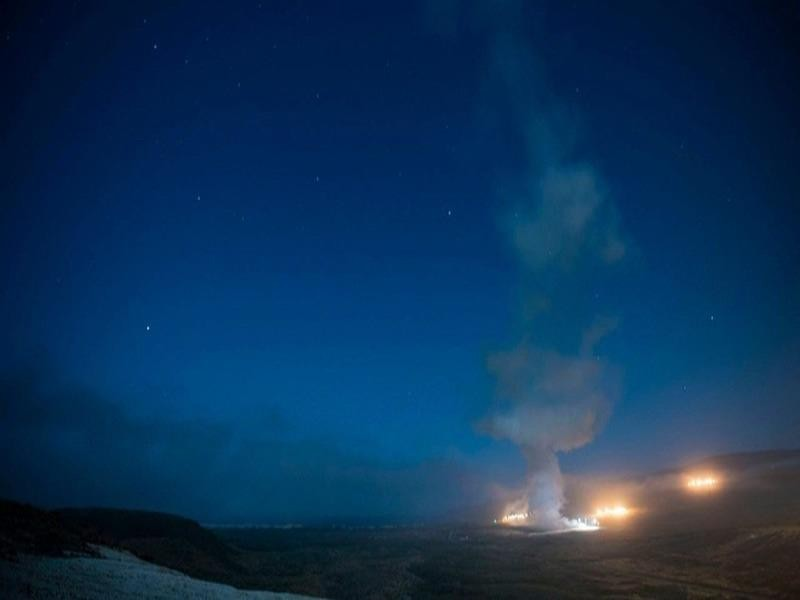 Mỹ và Trung Quốc cùng lúc diễn tập thử nghiệm tên lửa - ảnh 2