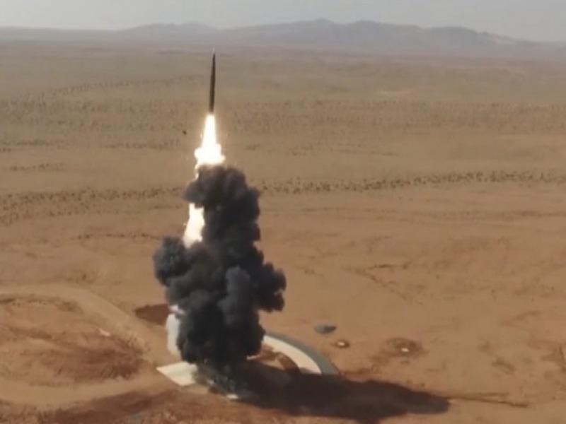 Mỹ và Trung Quốc cùng lúc diễn tập thử nghiệm tên lửa - ảnh 1