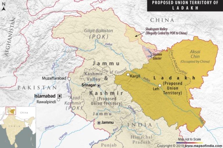 Sau Nepal, đến Pakistan vẽ lại bản đồ tranh chấp với Ấn Độ - ảnh 1