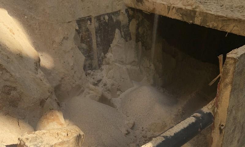 Phát hiện đường hầm 'lịch sử' ở biên giới Mỹ-Mexico - ảnh 1