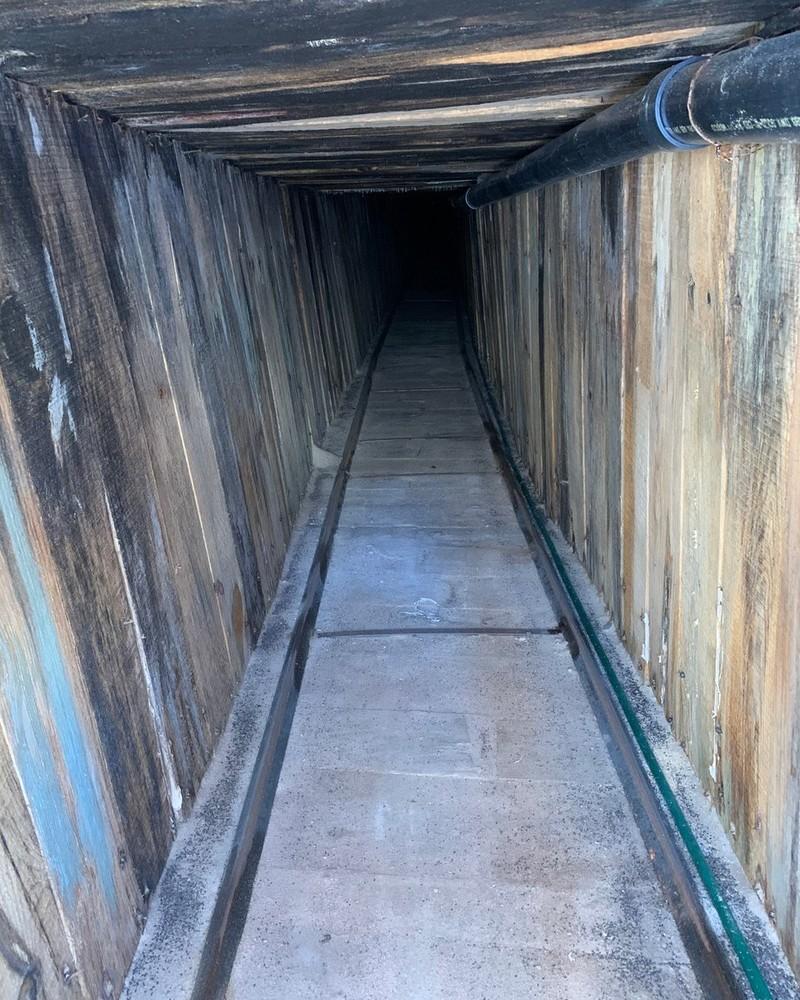 Phát hiện đường hầm 'lịch sử' ở biên giới Mỹ-Mexico - ảnh 2