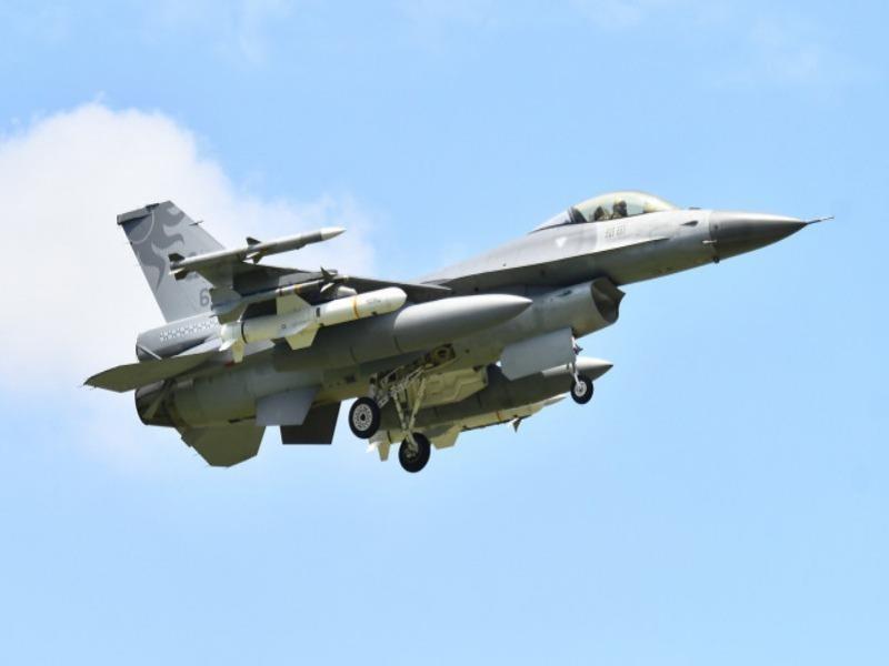 Đài Loan triển khai máy bay F-16 trang bị tên lửa diệt hạm - ảnh 1