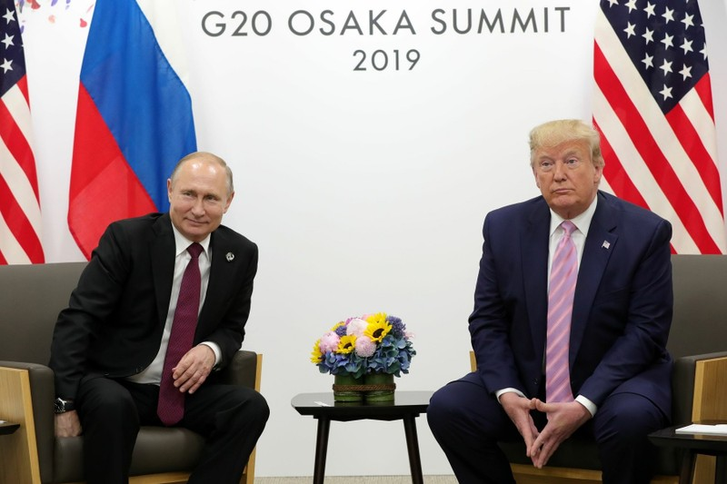 Ông Trump: 'Chắc chắn' sẽ mời ông Putin dự thượng đỉnh G7 - ảnh 1