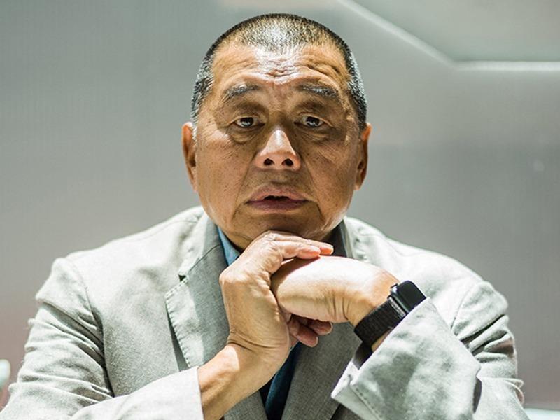 Vừa tại ngoại, ông Jimmy Lai kêu gọi Mỹ giúp đỡ - ảnh 1