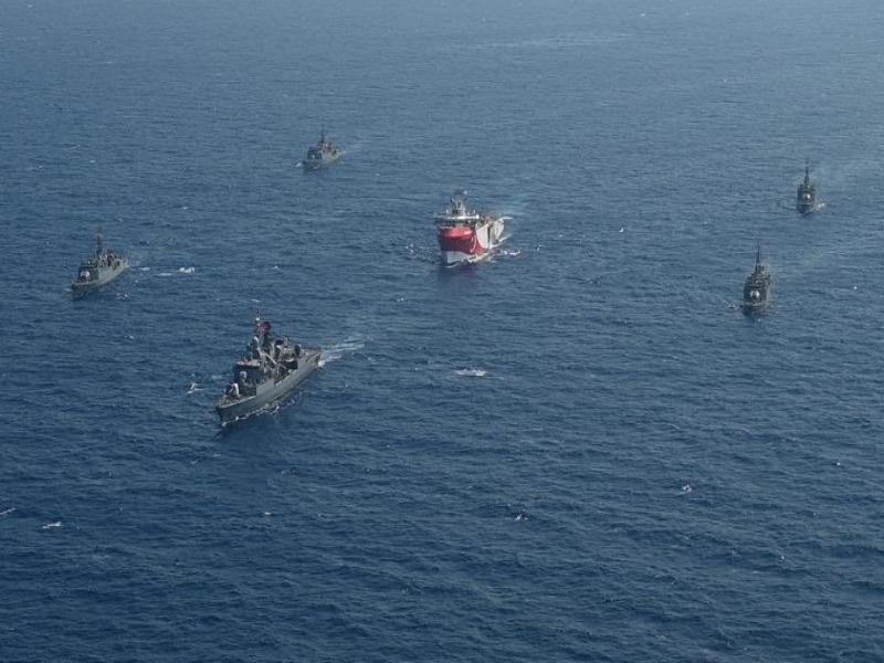 Tàu chiến Hy Lạp, Thổ Nhĩ Kỳ va chạm trên Địa Trung Hải - ảnh 1