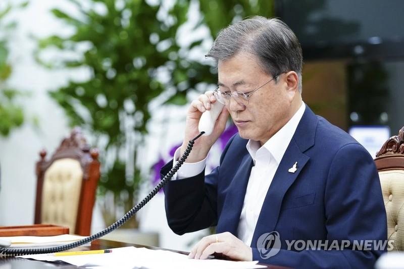 Lãnh đạo Hàn-Úc điện đàm bàn chuyện đến Mỹ dự G7  - ảnh 1