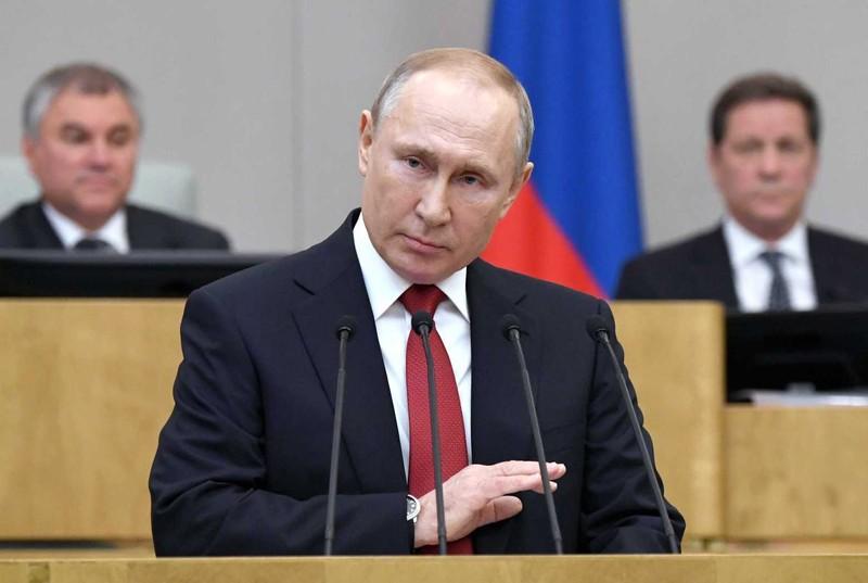 Nga công bố mức thu nhập hơn 130.000 USD của ông Putin - ảnh 1