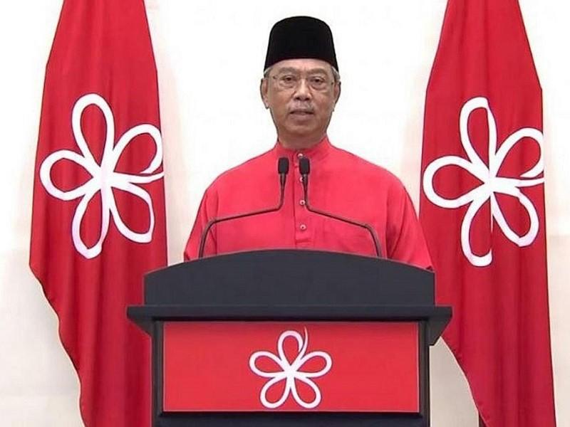 Thủ tướng Muhyiddin lập liên minh đấu với đảng ông Mahathir - ảnh 1