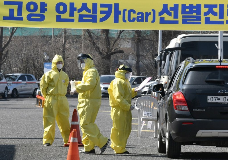 Hàn Quốc căng mình xử lý 'bóng ma' COVID-19 quay lại - ảnh 1