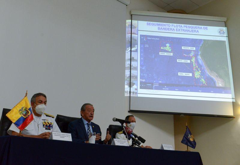 Ecuador: 149 tàu cá Trung Quốc tắt liên lạc né giám sát - ảnh 1