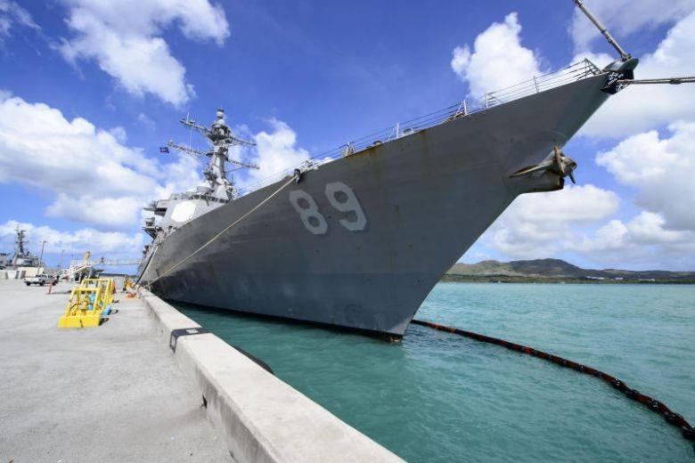 Trung Quốc phản ứng vụ khu trục hạm Mỹ băng eo biển Đài Loan - ảnh 1