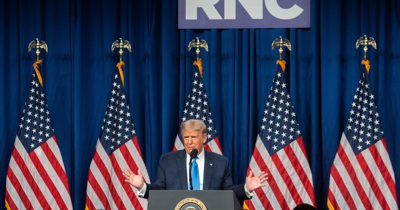 Ông Trump chính thức được đề cử là ứng viên tổng thống - ảnh 1
