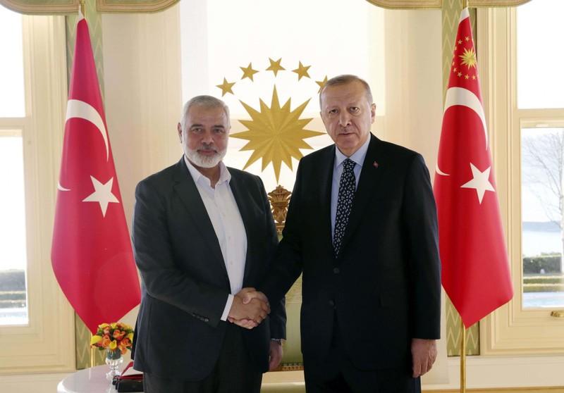 Israel chỉ trích Thổ Nhĩ Kỳ cấp hộ chiếu cho người nhóm Hamas - ảnh 1