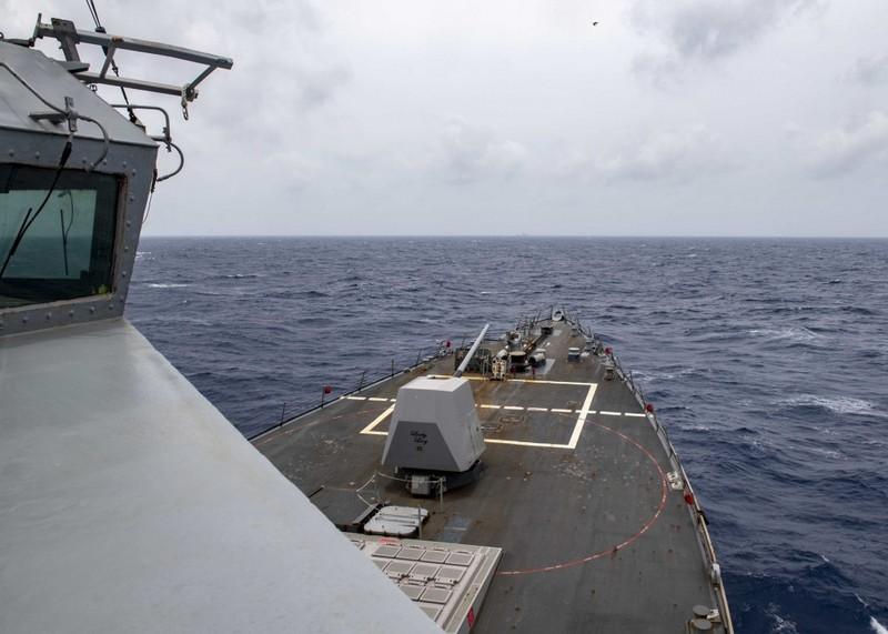 Ảnh: Mỹ điều tàu khu trục tuần tra Hoàng Sa đáp trả Trung Quốc - ảnh 3