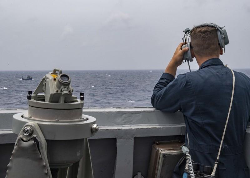 Ảnh: Mỹ điều tàu khu trục tuần tra Hoàng Sa đáp trả Trung Quốc - ảnh 1