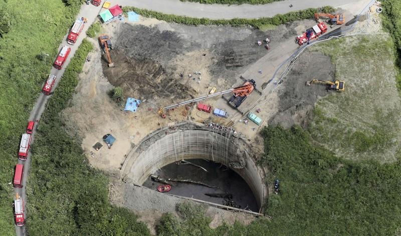 Tìm thấy thi thể công nhân xây dựng Nhật trong bể dầu sâu 30 m - ảnh 1