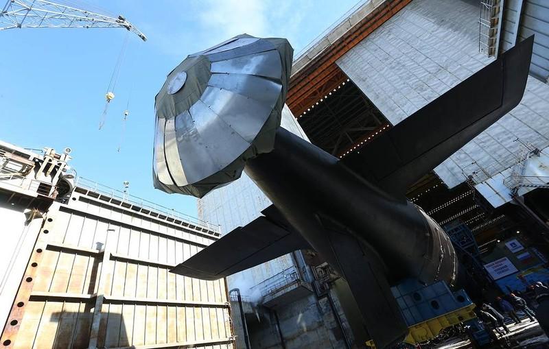 Nga ồ ạt đóng tàu ngầm mang tên lửa có tầm bắn 4.000 km - ảnh 1