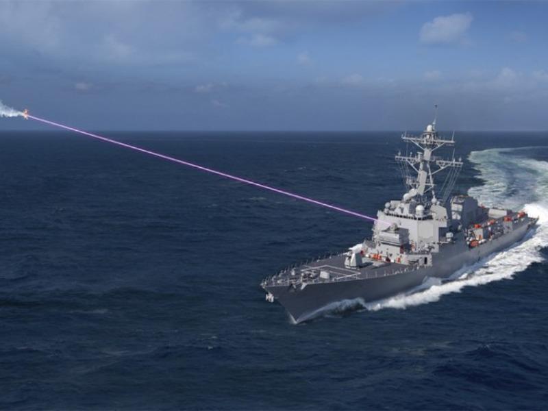 Nguy cơ Mỹ và Trung Quốc đối đầu nhau bằng vũ khí laser - ảnh 1