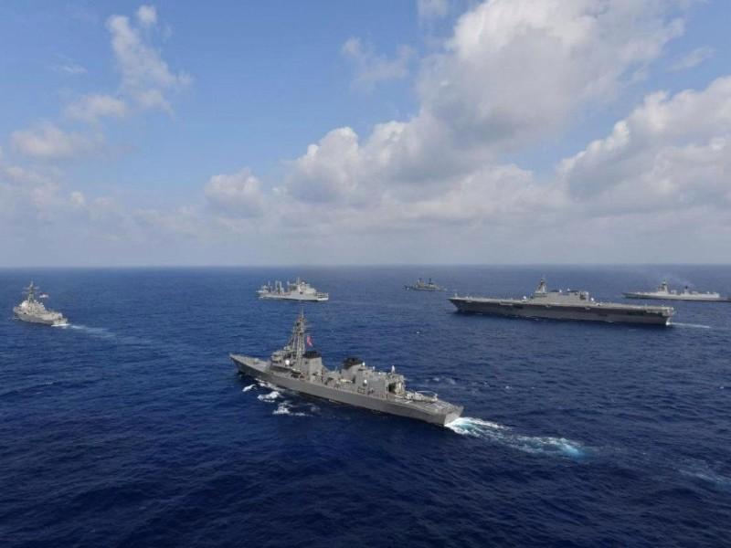 Tàu chiến Ấn Độ âm thầm ra Biển Đông, thách thức Trung Quốc - ảnh 1