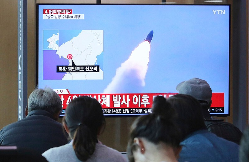 Mỹ báo động chương trình tên lửa đạn đạo của Triều Tiên - ảnh 1