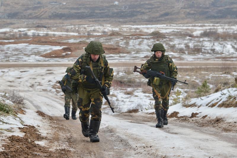 Mỹ có thể trừng phạt Nga nếu nước này đổ quân qua Belarus - ảnh 1