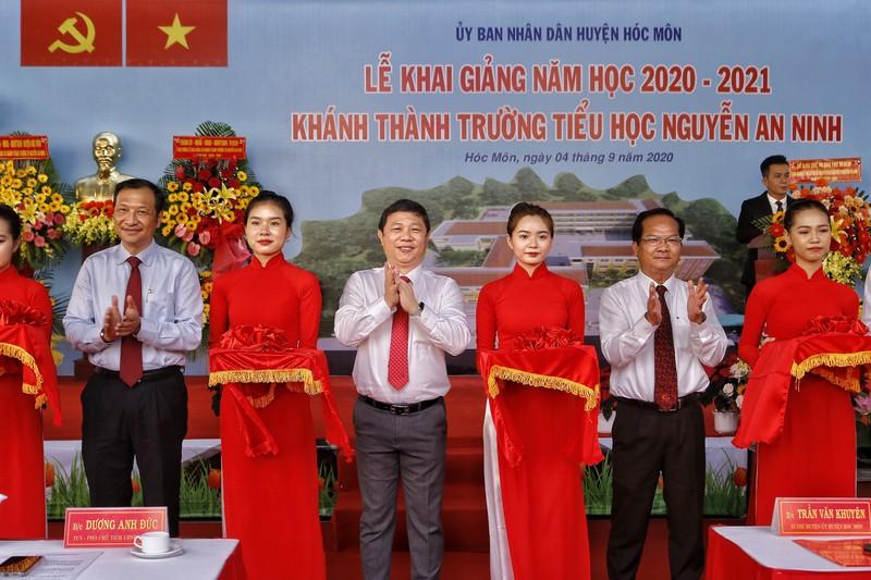 TP.HCM: Trường học đầu tiên khai giảng năm học mới  - ảnh 5