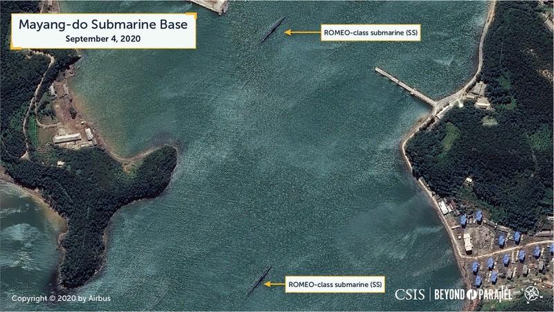 CSIS nghi Triều Tiên sắp thử tên lửa đạn đạo phóng từ tàu ngầm - ảnh 3