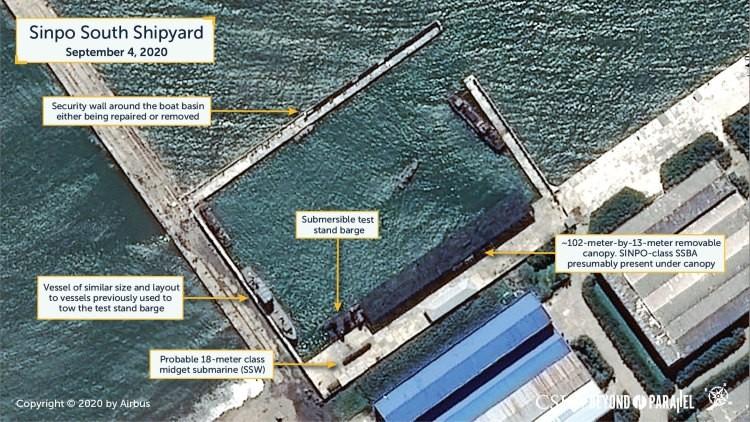 CSIS nghi Triều Tiên sắp thử tên lửa đạn đạo phóng từ tàu ngầm - ảnh 1