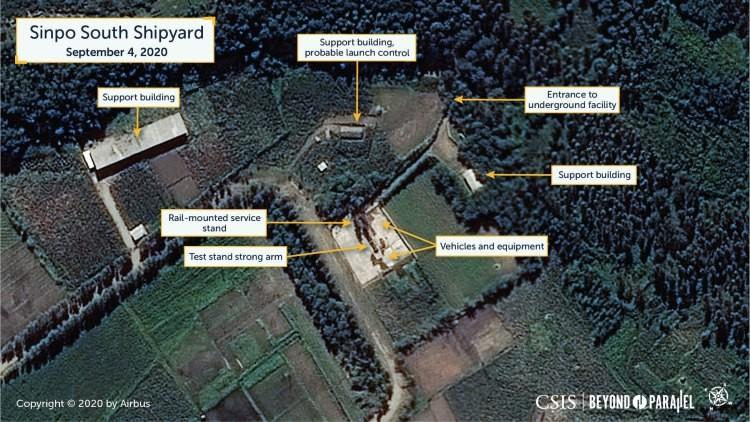 CSIS nghi Triều Tiên sắp thử tên lửa đạn đạo phóng từ tàu ngầm - ảnh 2