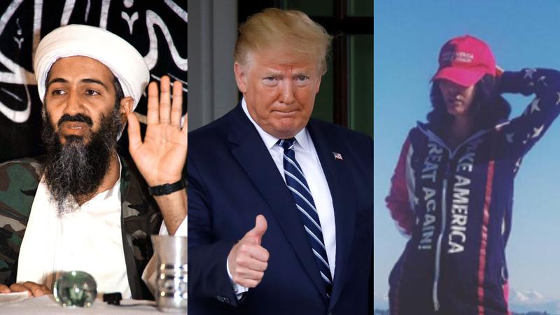 Cháu gái Osama bin Laden ủng hộ ông Trump tái đắc cử - ảnh 1