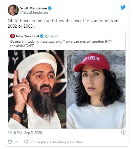 Cháu gái Osama bin Laden ủng hộ ông Trump tái đắc cử - ảnh 2