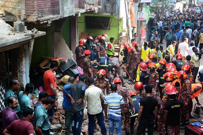 Nổ ống dẫn khí ở Bangladesh, hơn 50 người thương vong  - ảnh 1