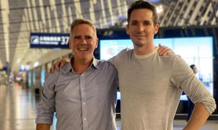 Lo ngại bị bắt giữ, 2 nhà báo Úc vội vã rời Trung Quốc  - ảnh 1