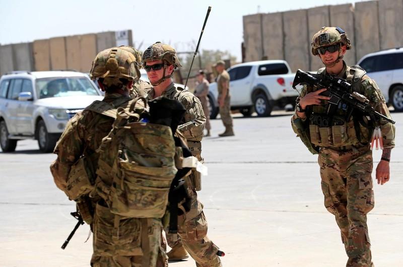 Mỹ thông báo rút bớt quân khỏi Iraq - ảnh 1