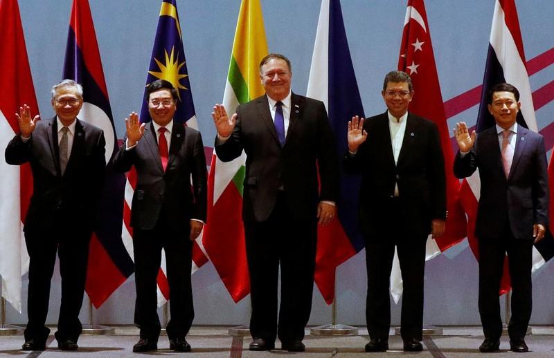 Biển Đông: Ông Pompeo cam kết sát cánh cùng ASEAN  - ảnh 1