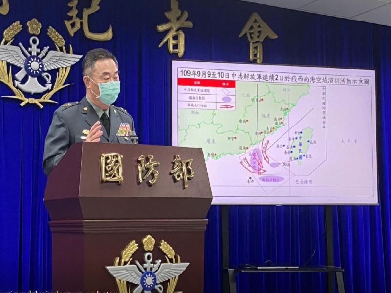 Đài Loan lên án Trung Quốc tập trận quy mô lớn gần đảo  - ảnh 1