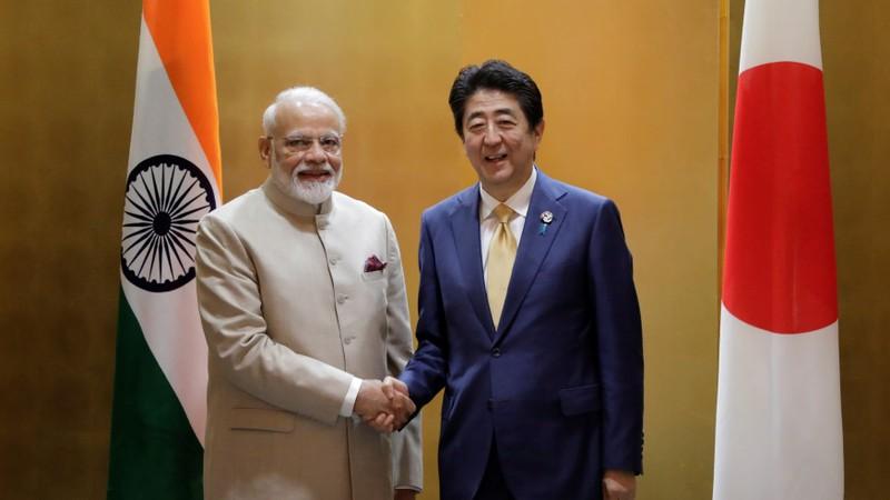 Ấn Độ, Nhật Bản ký hiệp định quốc phòng kiềm chế Trung Quốc - ảnh 1