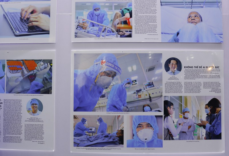 Tinh thần Việt chống dịch COVID-19 qua 400 ảnh của Nguyễn Á - ảnh 9