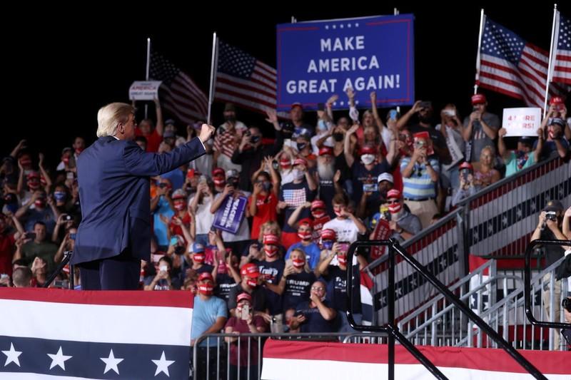 Ông Trump nói có thể tìm kiếm nhiệm kỳ tổng thống thứ ba - ảnh 1