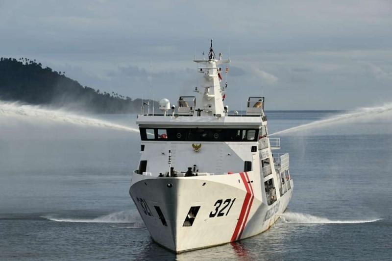 Tàu hải cảnh Trung Quốc ngang nhiên xâm phạm biển Indonesia  - ảnh 1